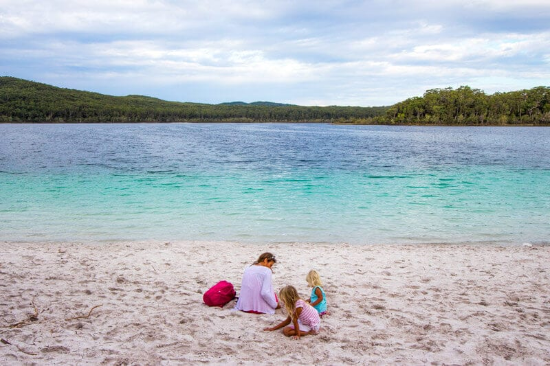 Lake Mackenzie - one of the best things to do on Fraser Island in Australia