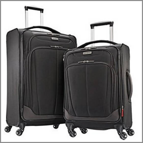 96b96a74207f One of the best suitcases for travel - Samsonite 2-pc Spinner Luggage Set
