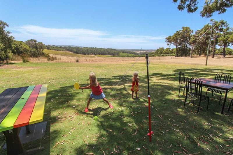 Swings and Roundabouts Margaret River winery for kids