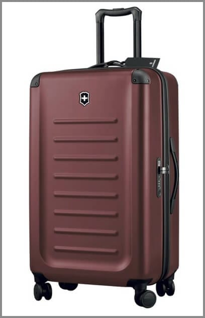 One of the best suitcases for travel - Victorinox Spectra