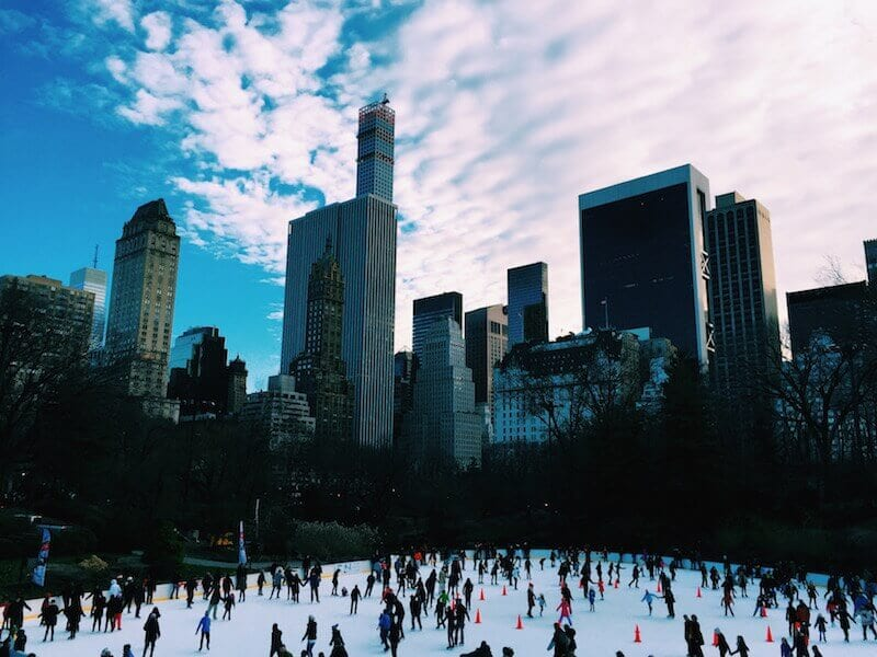 Go ice skating in Wollman Rink - things to do in Central Park, New York City