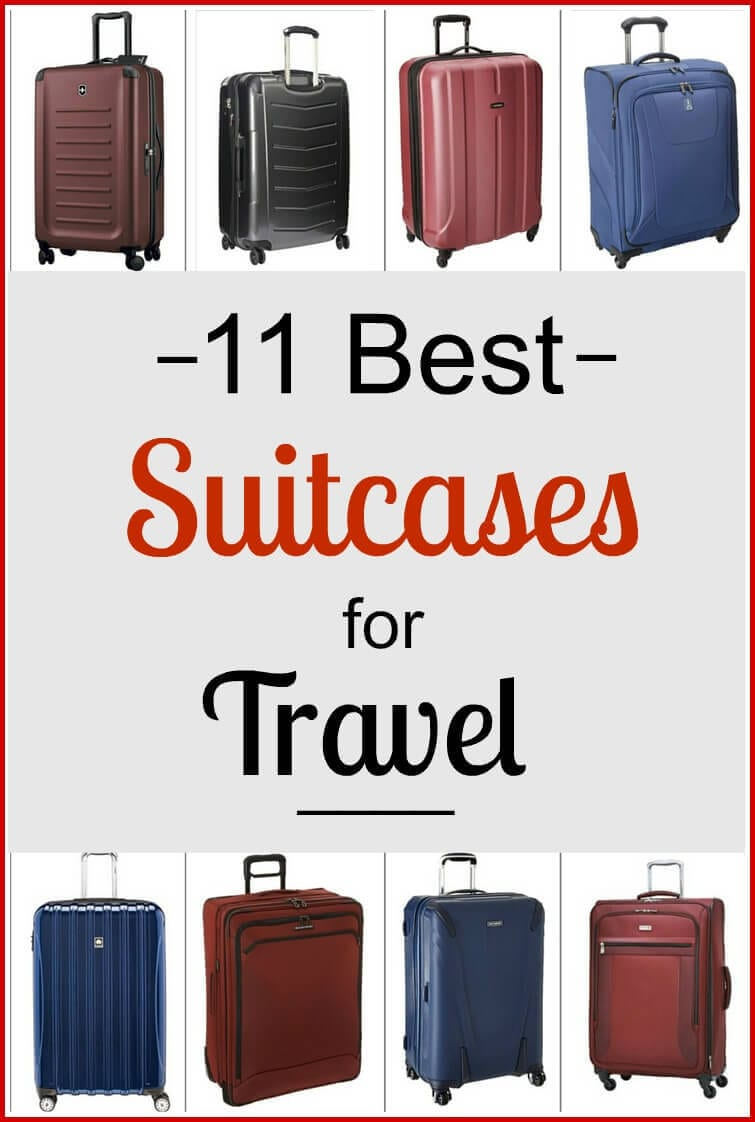 11 of the Best Suitcases for Travel | y Travel Blog | Bloglovin'