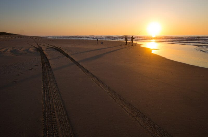 Sunrise on Eurong Beach - one of the best things to do on Fraser Island
