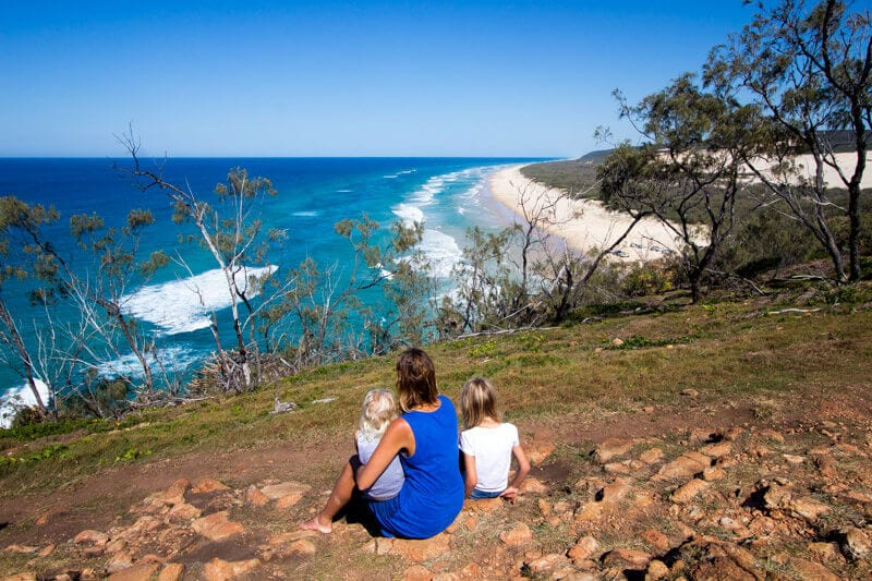 What Rock Is Indian Head Fraser Island Made Out Of