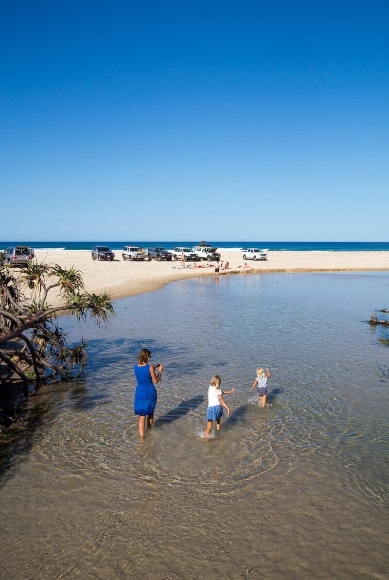 Eli Creek - things to do on Fraser Island in Australia