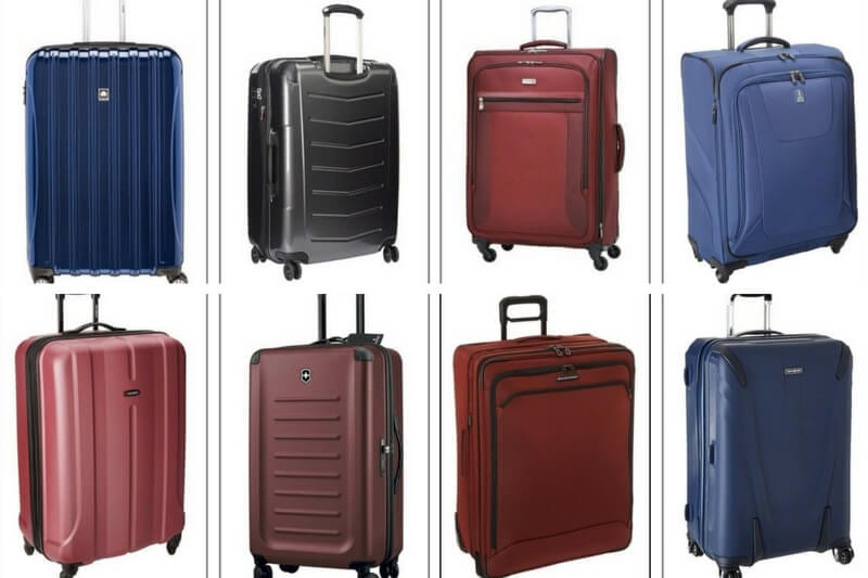 11 Best Suitcases for Easy Travel + How to Choose a Suitcase Size 3621b1b00da97
