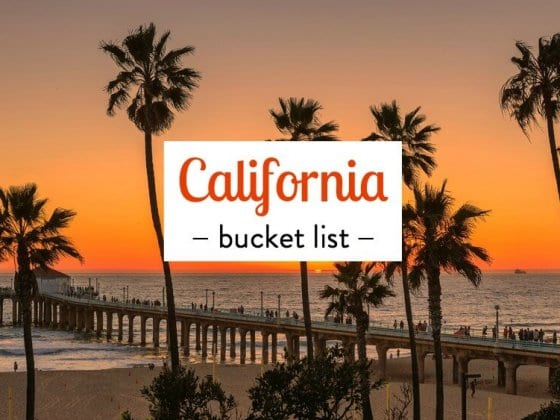 Things to do in California bucket list