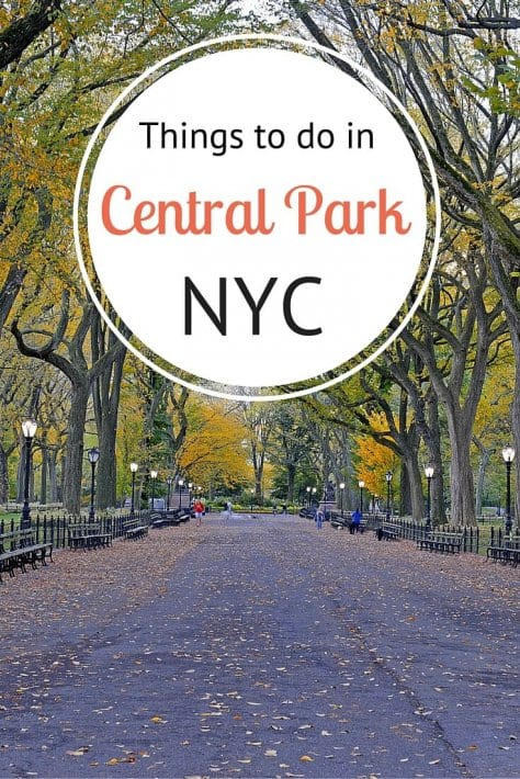 Things to do in central park nyc in each season for Places to explore in nyc