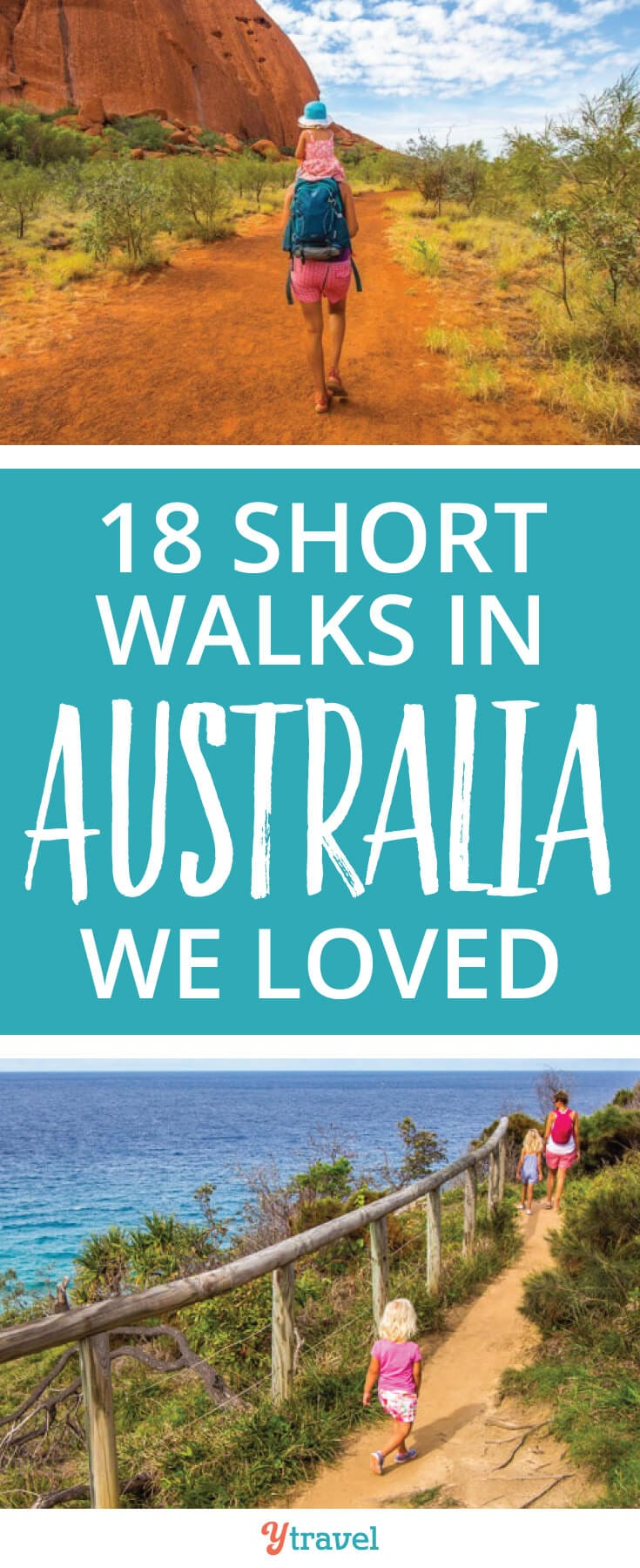 Short walks in Australia to love! Check out these 18 walks or hikes in Australia to do. Beautiful scenery in all seasons and family friendly too!
