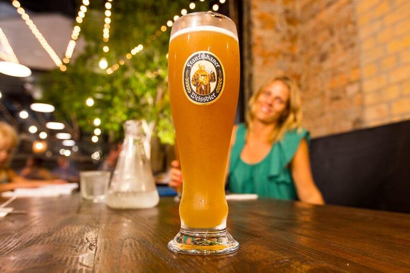 Franziskamer, German Beer at Heisenberg Haus in Ipswich, Queensland