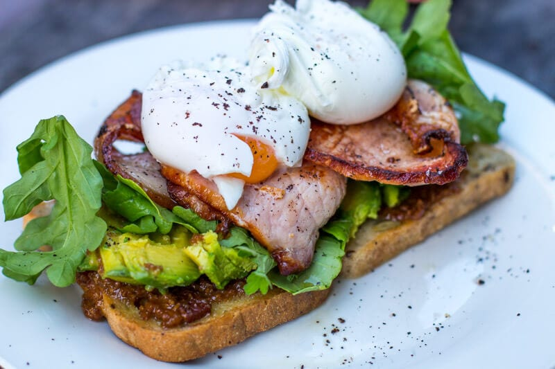 Yummy breakfast at Rafter and Rose cafe - things to do in Ipswich