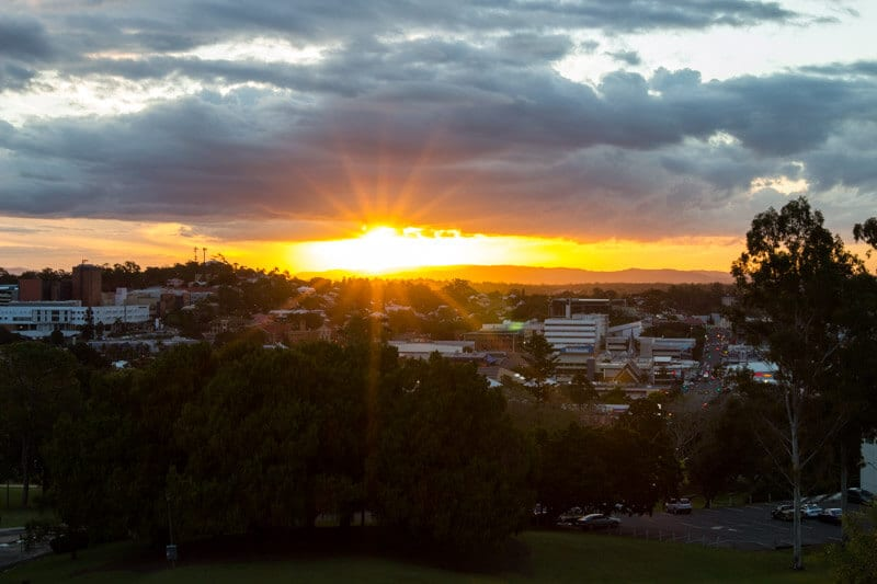 Sunset at Lions Lookout - Ipswich, Queensland