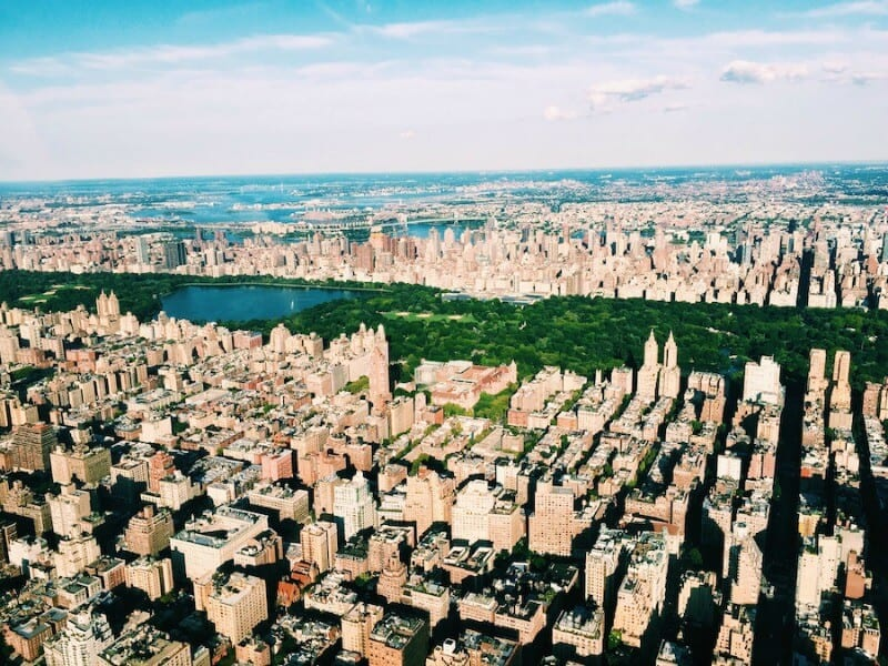 For one of the best views of New York City take a helicopter flight