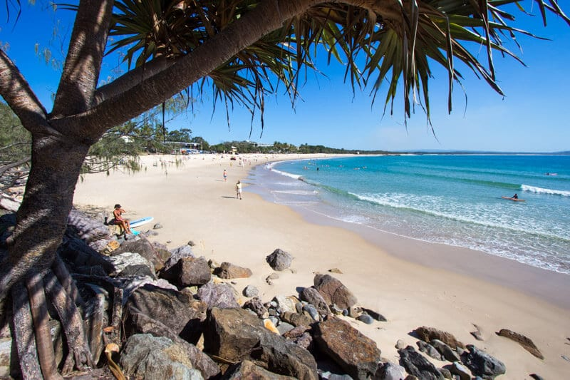 Noosa - one of the best beach towns on the Sunshine Coast of Queensland, Australia