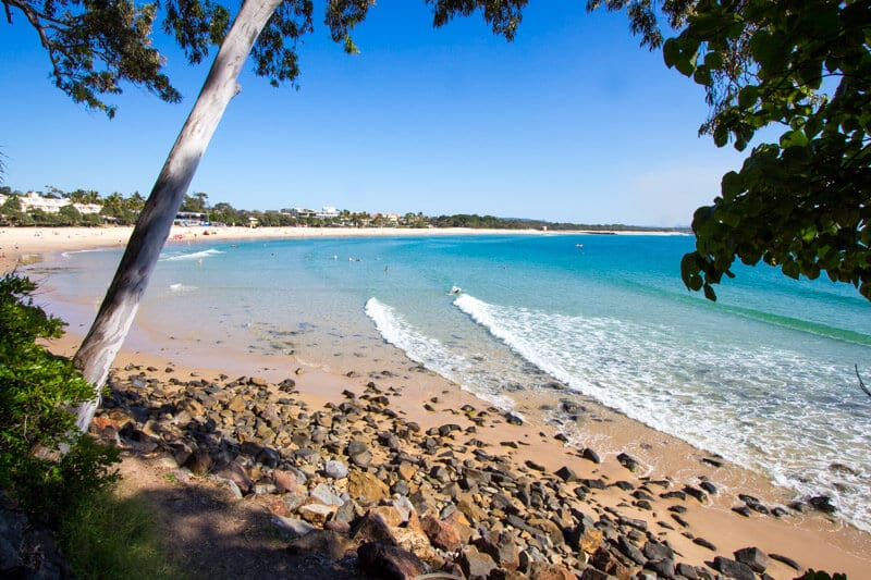 Noosa on the Sunshine Coast of Queensland, beach vacations.
