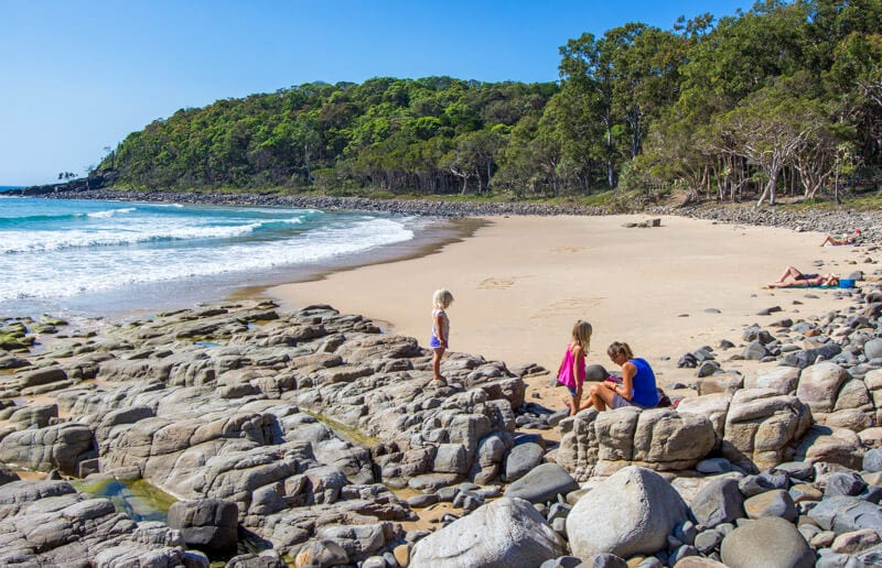 Tea Tree Bay in Noosa Heads National Park - Sunshine Coast, Queensland