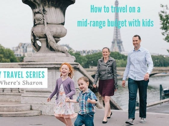 travel with kids budget