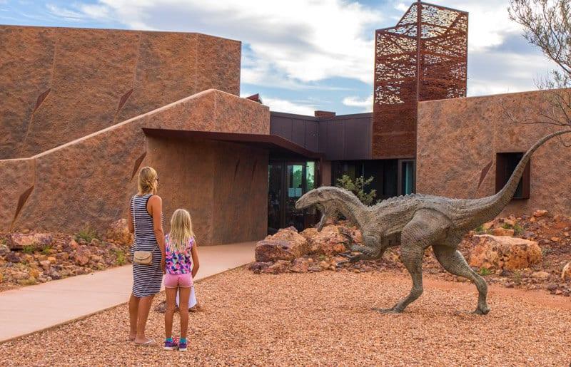 dinosaur museum winton outback queensland