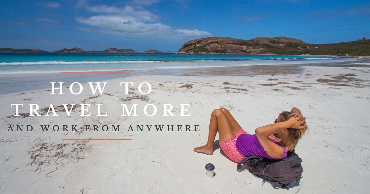 HOW TO TRAVEL MORE