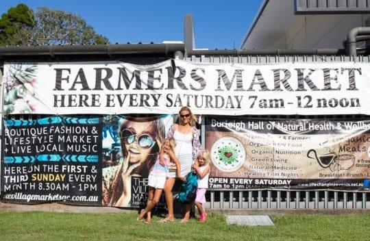 Burleigh Farmers Market, Gold Coast, Australia