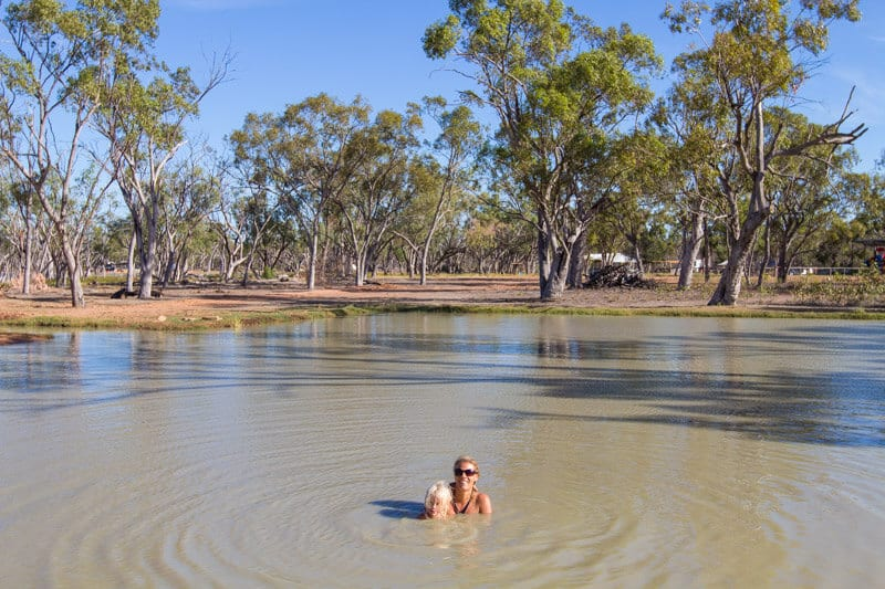 Lara Wetlands - Highlight of our Outback Queensland road trip