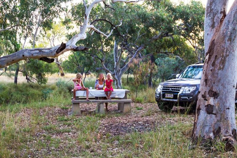 Road trip dans l'Outback du Queensland à Tambo