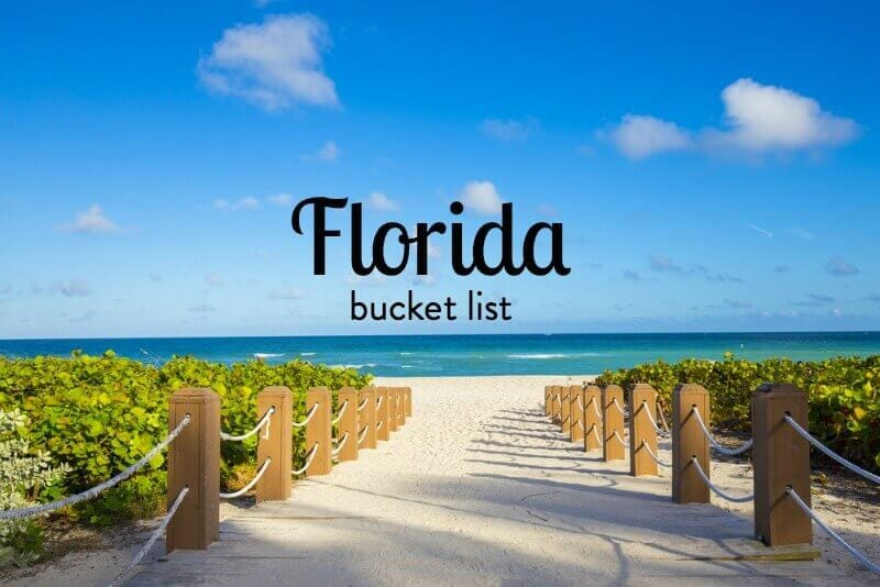 What are the best things to do in Florida?