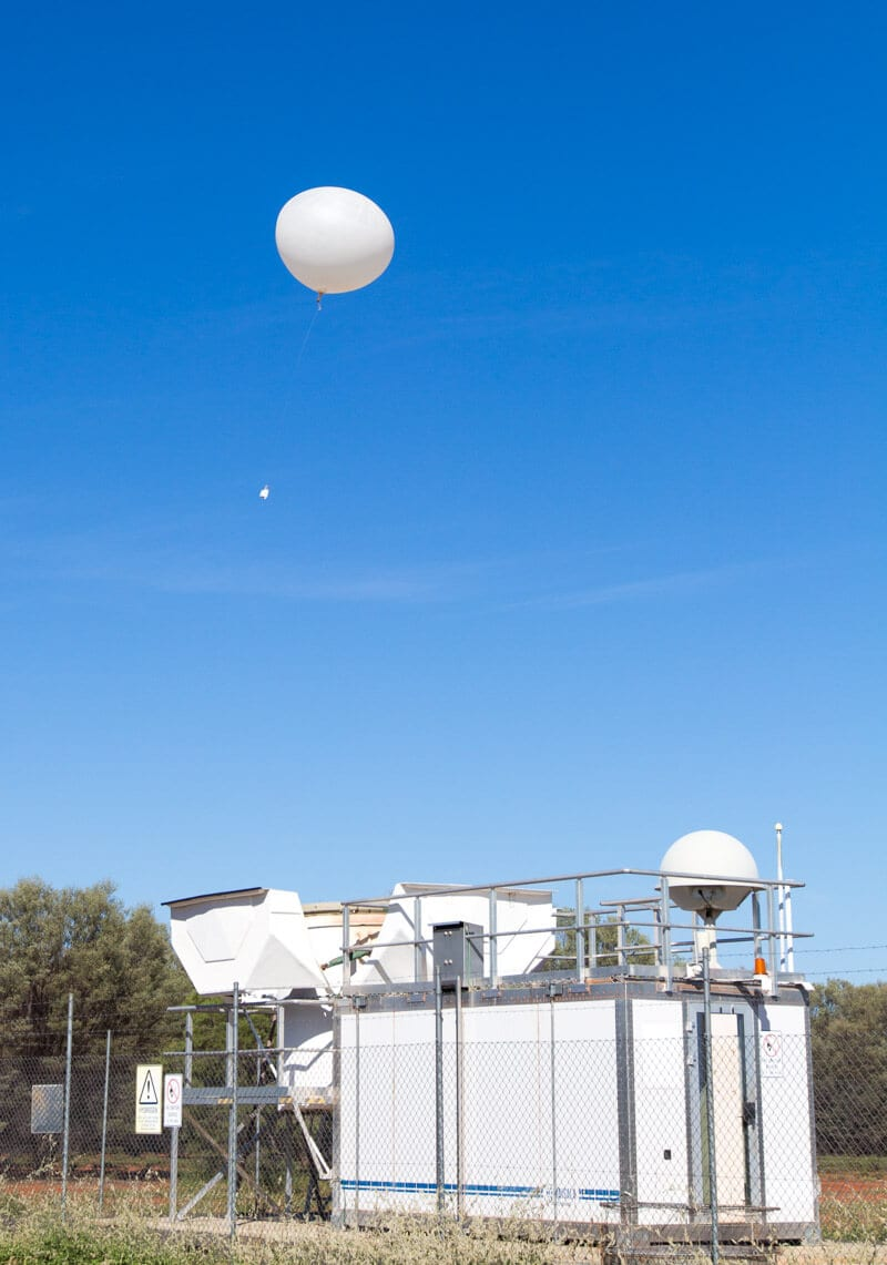 Weather Station in Charleville, Outback Queensland