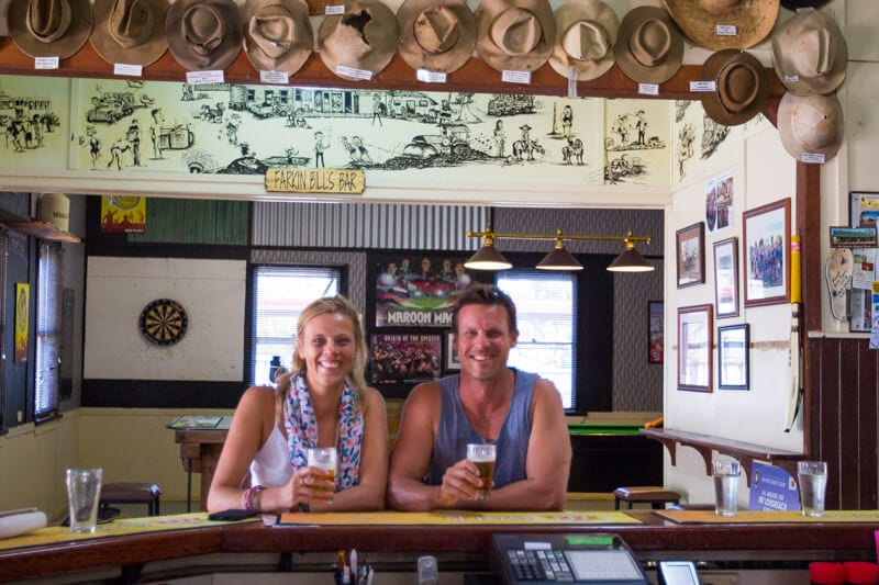 The Wellshot Hotel near Longreach in Outback Queensland