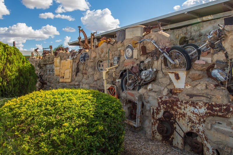 Arno's Wall in Winton, Outback Queensland