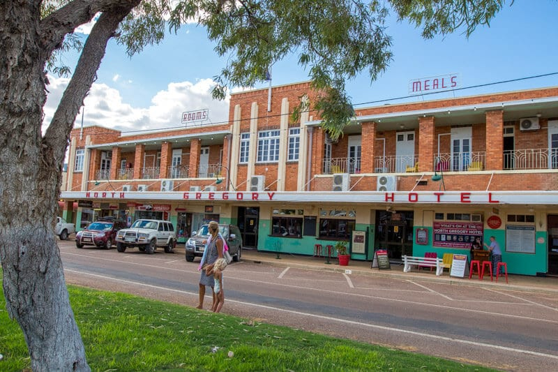 The North Gregory Hotel in Winton, Outback Queensland