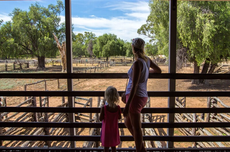 Woolscour Tour in Blackall, Outback Queensland