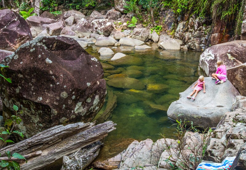 Araulen swimming holes - Finch Hatton Gorge, Queensland
