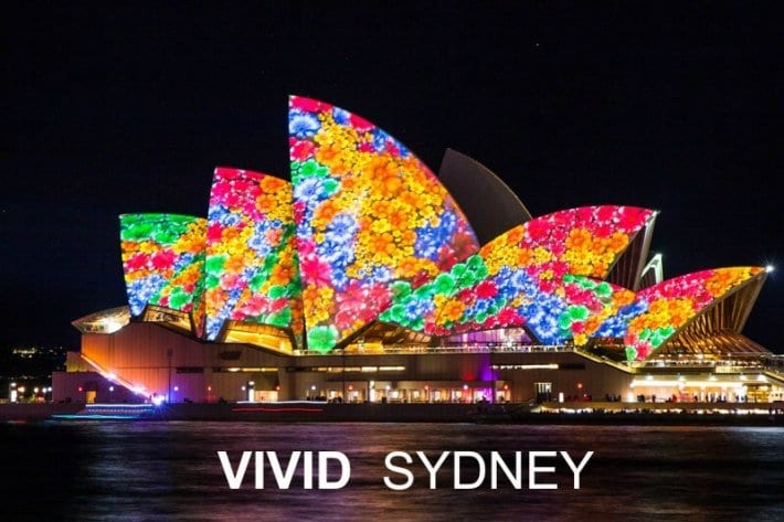 How to experience the Vivid Sydney Festival (with or without kids)