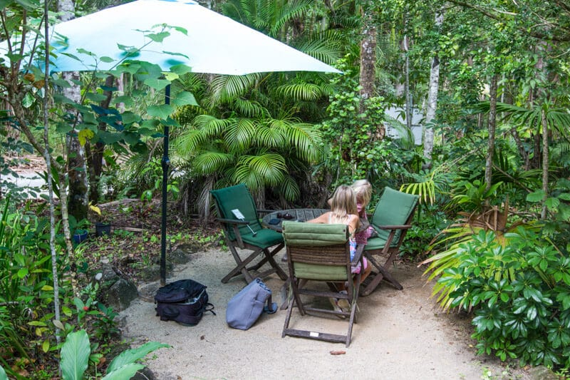 Ulysses Garden Cafe, Finch Hatton Gorge, Mackay, Queensland, Australia