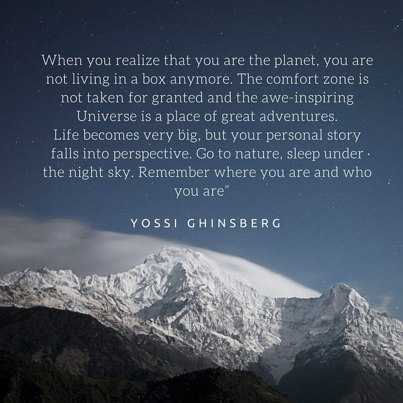 Yossi Ghinsberg quote