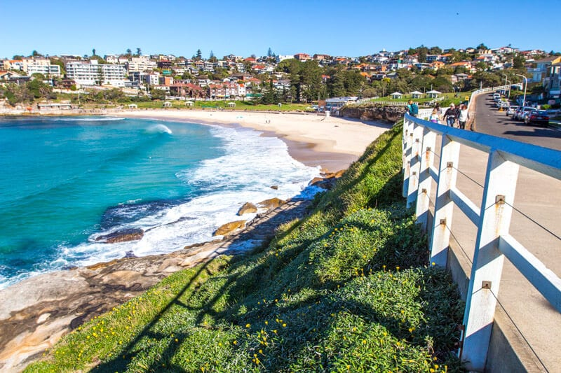 Playa Bronte en Sydney, Australia