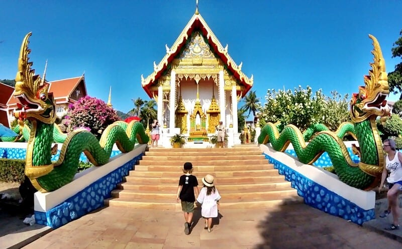 exploring phuket with kids