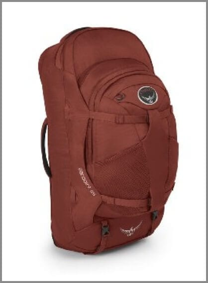 Osprey Farpoint 55 L Travel Backpack - one of the best travel backpacks