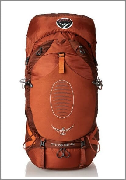 Osprey Men's Atmos 65 AG Backpack - one of the top 10 travel backpacks