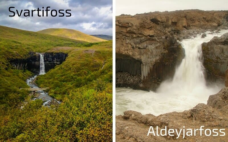 Aldeyjarfoss - one of the best places to visit in Iceland off the beaten path