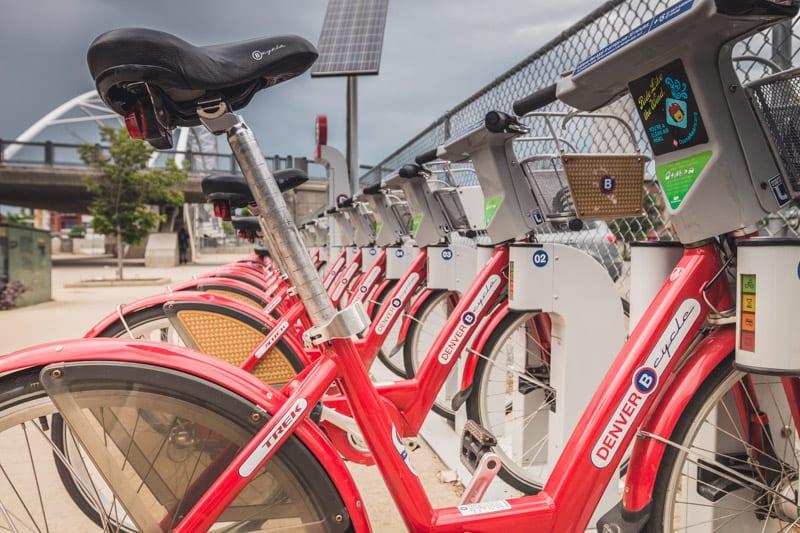 Denver cycle Bike sharing program