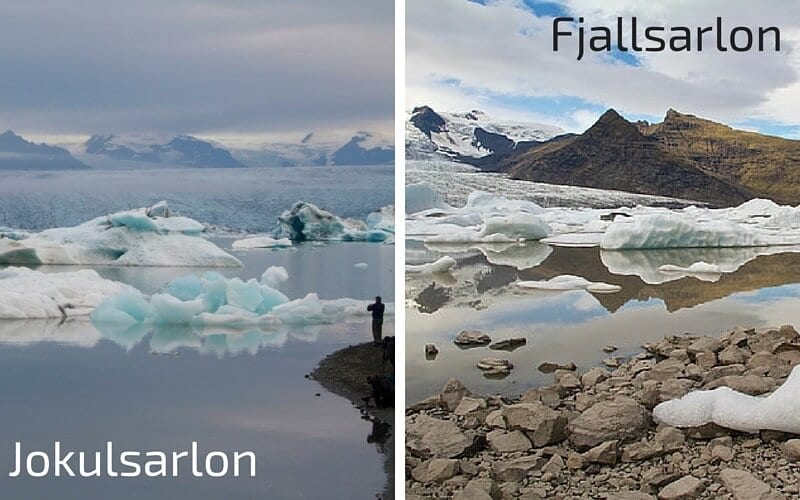 Fjallsarlon - one of the best places to visit in Iceland off the beaten path.