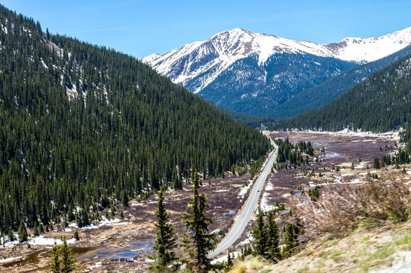 Independence Pass Snowmass Aspen Colorado