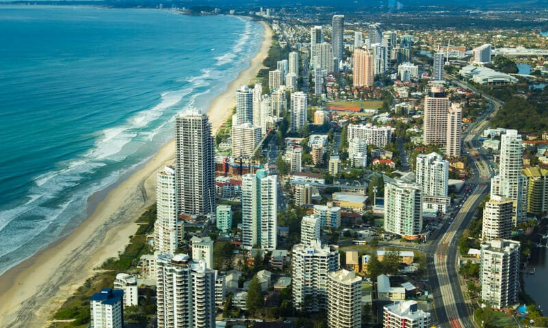 SkyPoint Gold Coast views