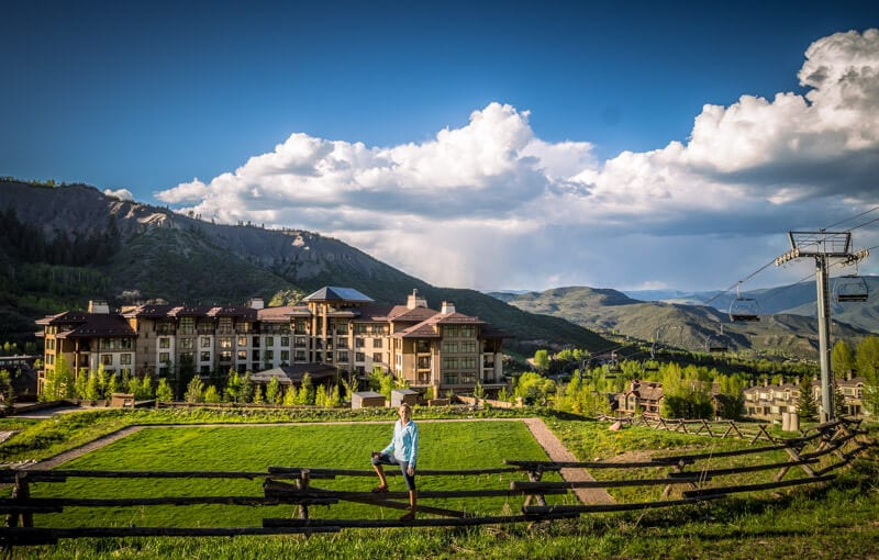The Viceroy Hotel in Snowmass, Colorado