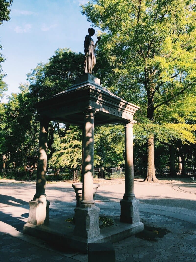 Tompkins Square Park - one of the best parks in NYC