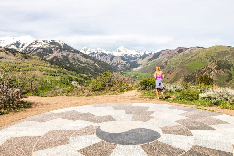 Views Yin Yang Lookout Snowmass Colorado