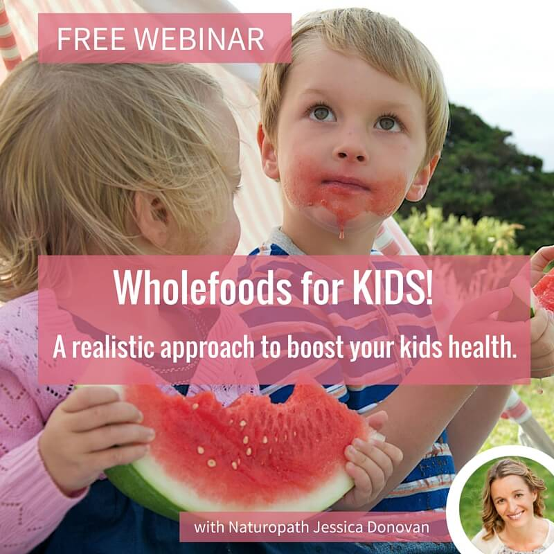 FREE Webinar - How to keep kids healthy!