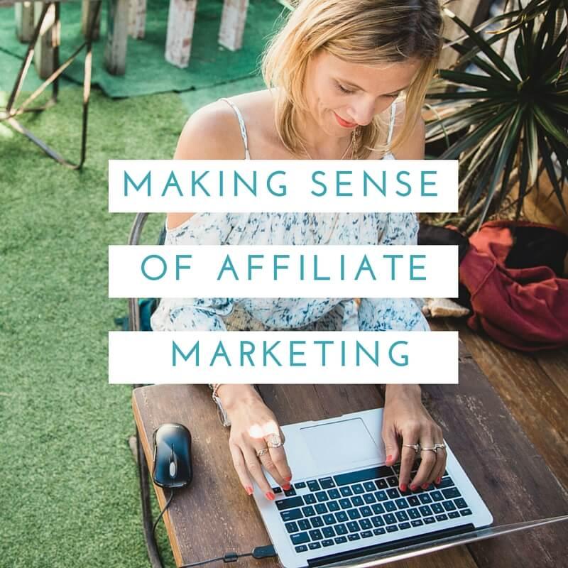 affiliate marketing travel blogging